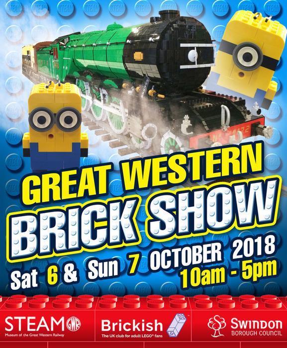 Win a Family Ticket to the Great Western Brick Show