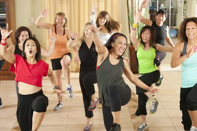 Zumba every Thursday