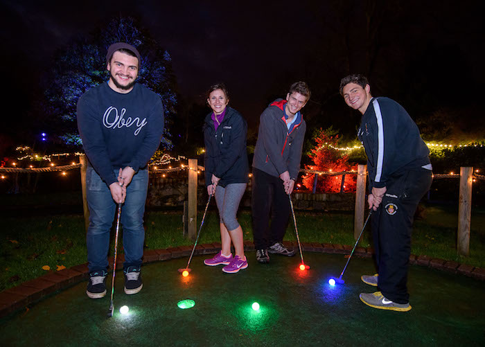 Bath on Ice & Glow in the Dark Golf
