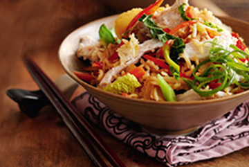 Recipe: Slimming World Spicy Chicken Noodle Salad