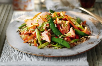 Recipe: Slimming World Salmon & Wild Rice Salad