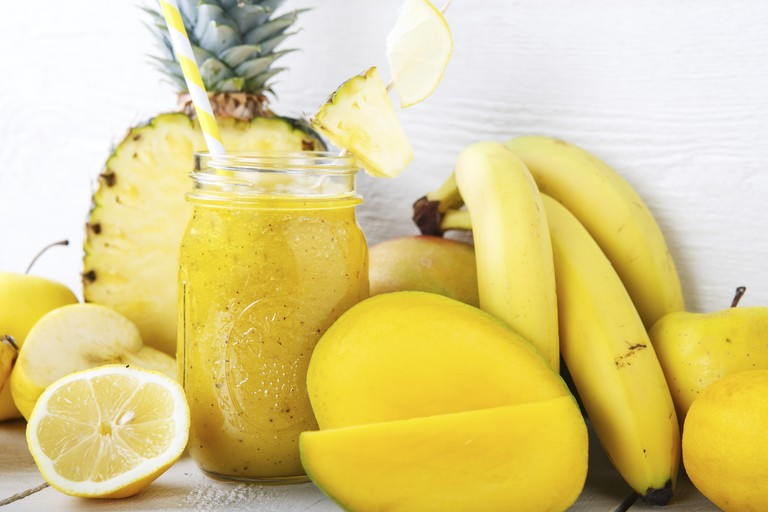 Recipe: Mellow Yellow Blast