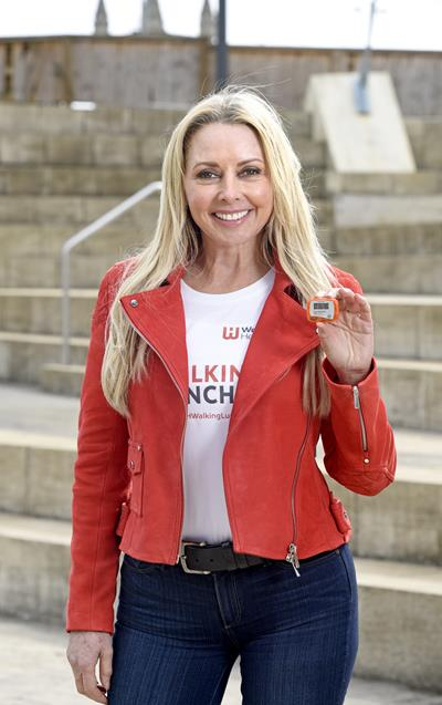 Carol Vorderman Encourages Workers To Get Walking