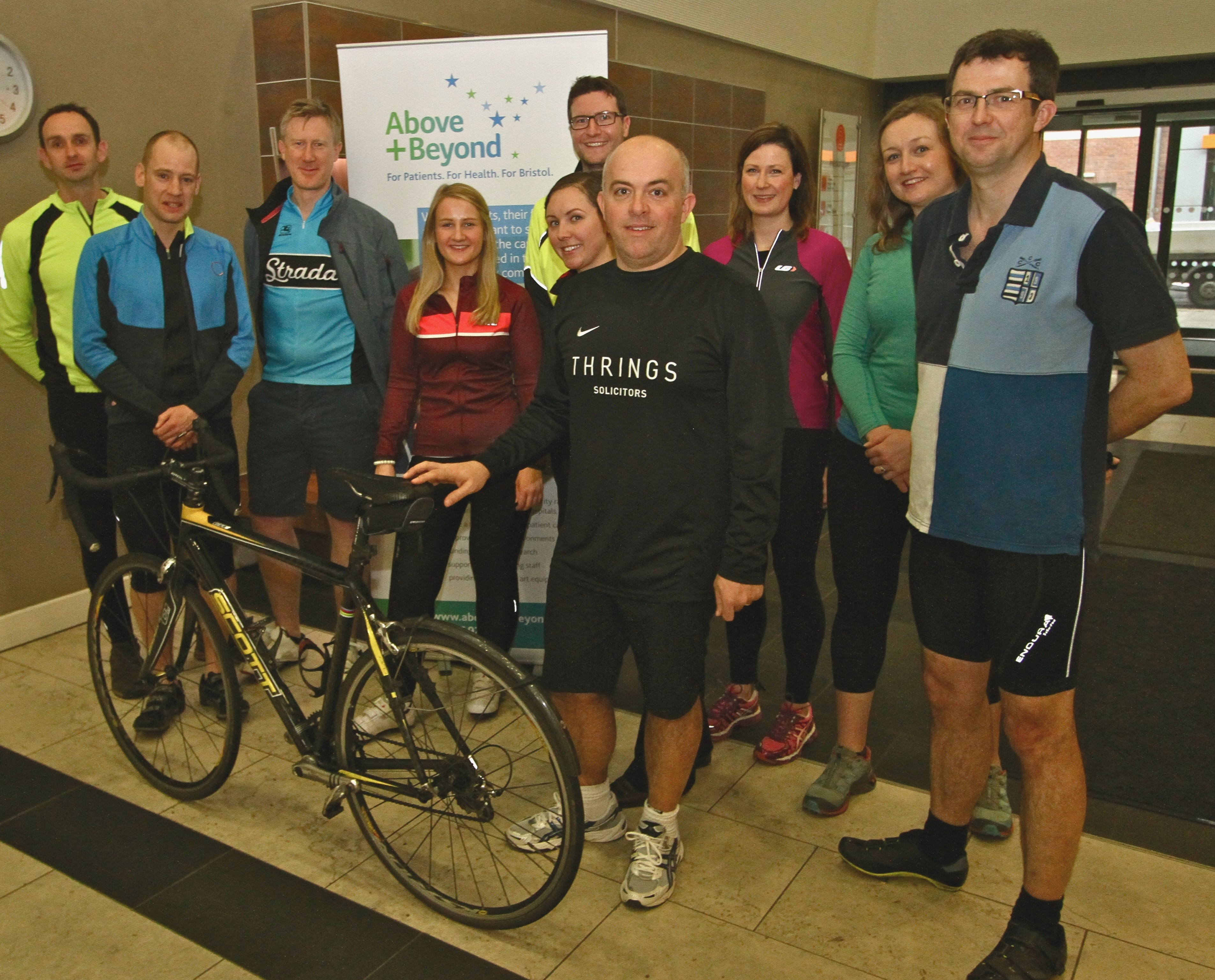 Law de France - Thrings to Cycle to France for Charity