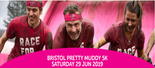 Race for Life  pretty muddy 5K