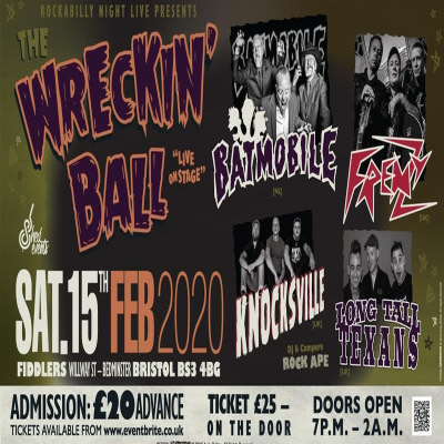 The Wrecking Ball: Psychobilly Extravaganza