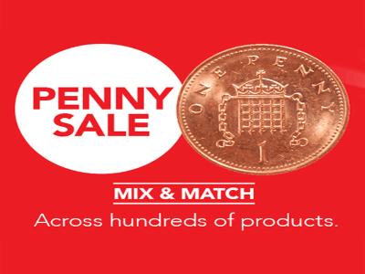 Happy is the H&B Penny Sale