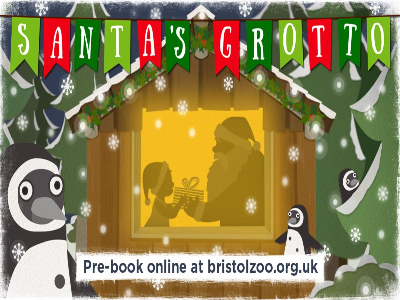 Santa's Grotto at Bristol Zoo!