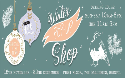 Winter Pop-up Shop - Bristol 2019