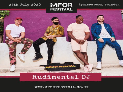 SWINDON SET TO FEEL THE LOVE AS RUDIMENTAL DJ CONFIRMED FOR MFOR 2020