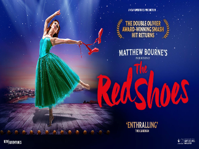 WIN 2 TICKETS TO THE RED SHOES AT BRISTOL HIPPODROME
