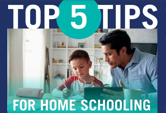Top 5 Tips for Home Schooling