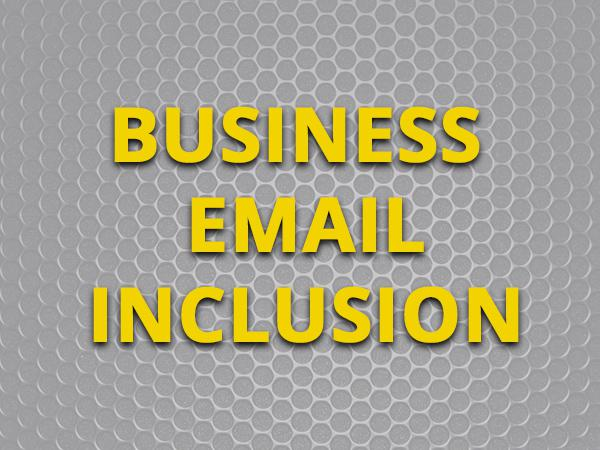 INCLUSION IN TOTAL GUIDE TO BUSINESS NEWSLETTER