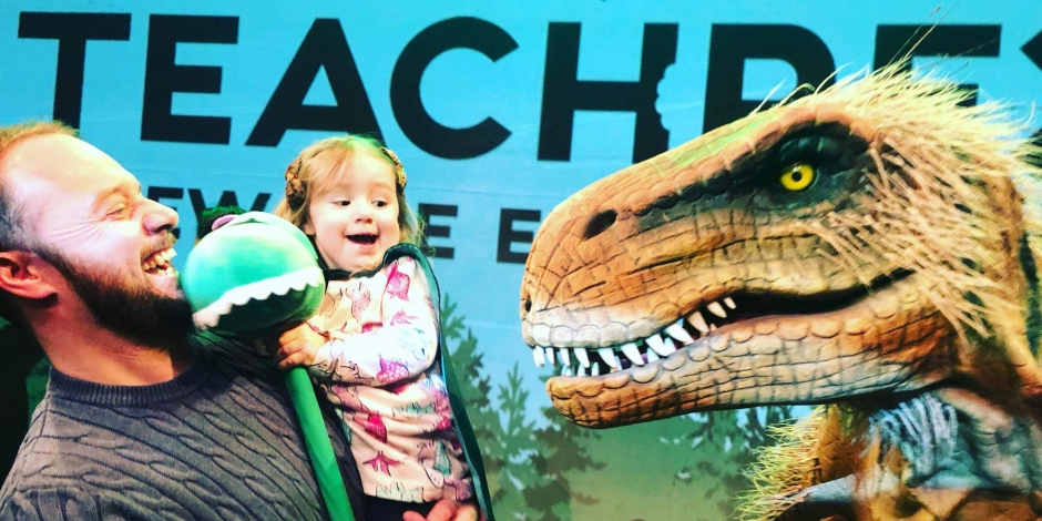 Dinosaurs are Coming to the Tobacco Factory This Easter