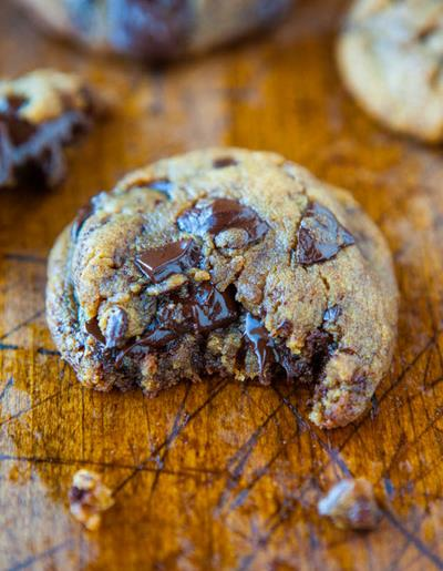 Chocolate and Peanut Butter Crunch Cookies