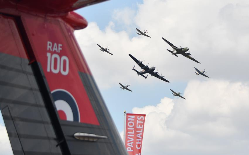 Air Tattoo Celebrates RAF100 in Style