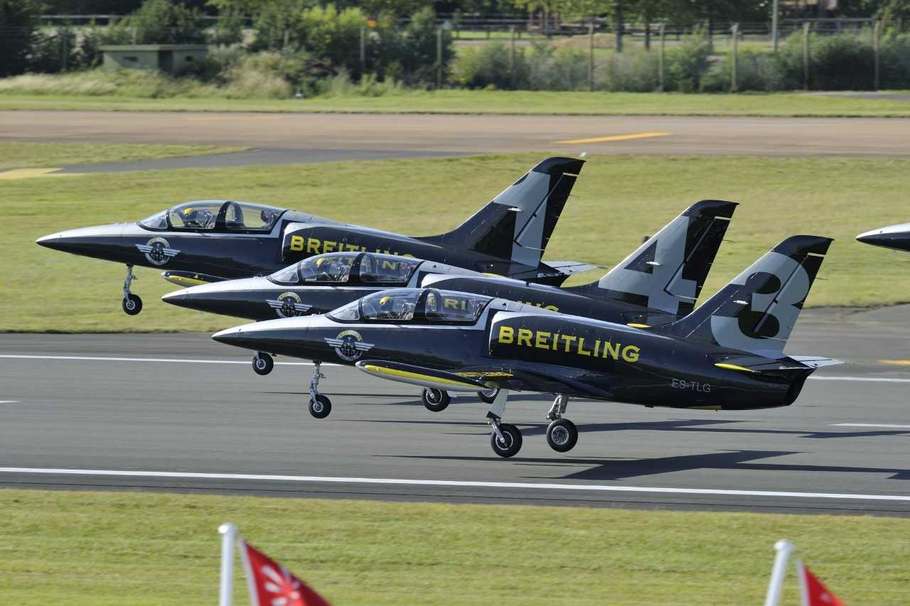 THE BRILLIANT BREITLINGS RETURN TO THE AIR TATTOO