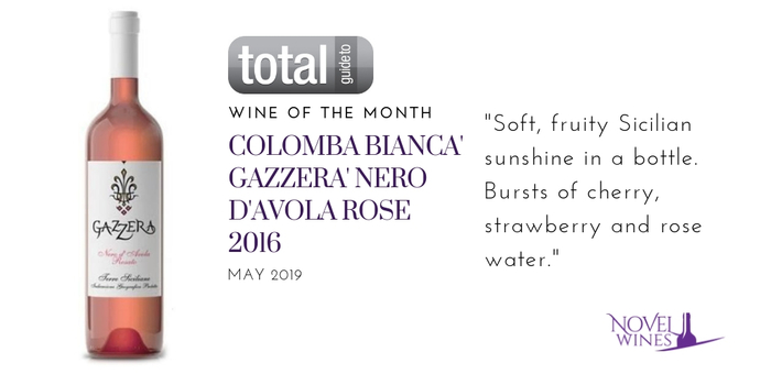 Wine of The Month: Colomba Bianca 'Gazzera' Nero d'Avola Rosé 2016, Sicily