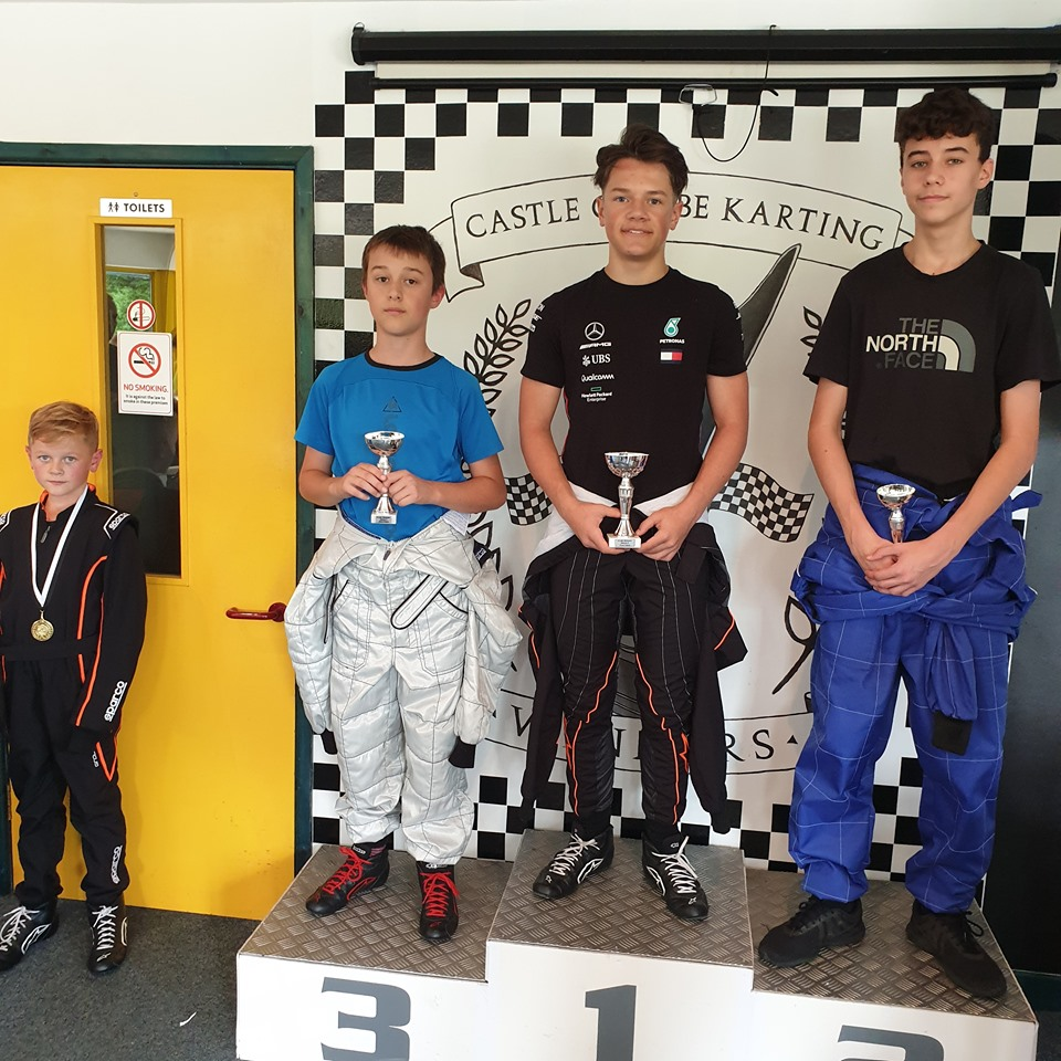 Round 2 of the Castle Combe Autumn Junior Karting Championship