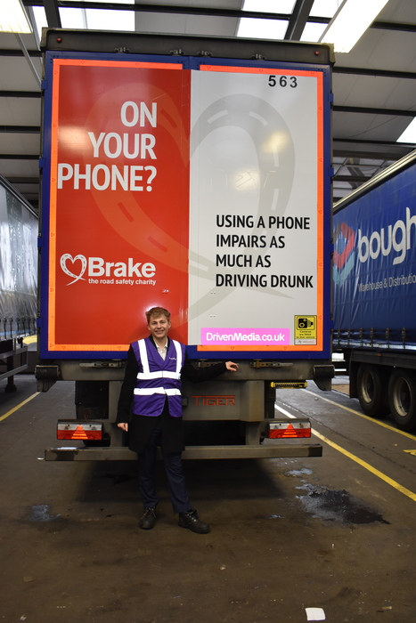 Dragons' Den entrepreneur teams up with national charity Brake for Road Safety Week (and beyond)