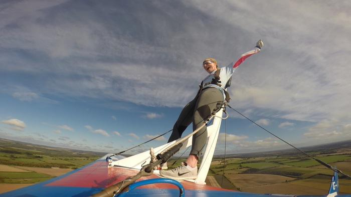 Take to the skies! Bristol children's charity dares supporters to wing walk and boost funds