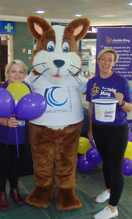 Clifton Down Shopping Centre raises over £1,860 for Charity of the Year Jessie May