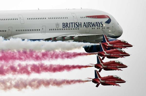 AIR TATTOO TO CELEBRATE BRITISH AIRWAYS AIRLINE HERITAGE