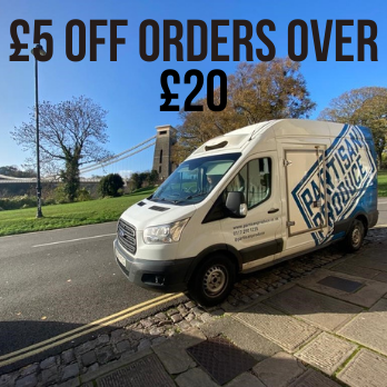£5 Off Orders Over £20 With Partisan Produce