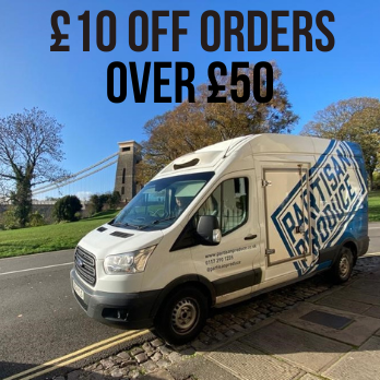 £10 Off Orders Over £50 With Partisan Produce