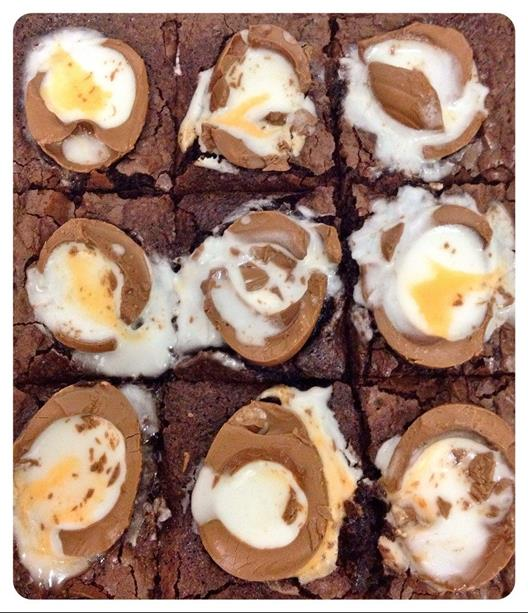 Recipe: Creme Egg Brownies